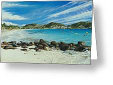 Orient Beach Greeting Card