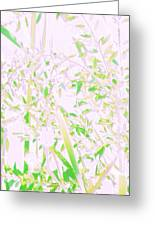 Oriental Nature Greeting Card