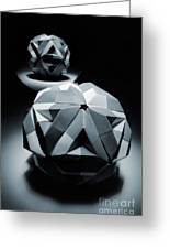 Origami Paper Sphere Greeting Card