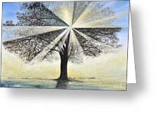 original Tree Light Greeting Card