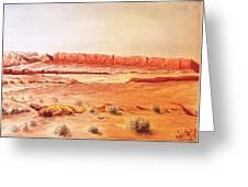 Original Western Artwork 21 Greeting Card
