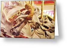 Originally Named Liberty Greeting Card by Dressage Design
