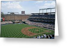 Orioles Park. Kansas City Royals Greeting Card by Brian Gordon Green