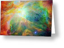 Orion Nebula Messier 42  M42  Ngc 1976  Greeting Card
