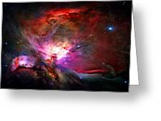 Orion Nebula Greeting Card