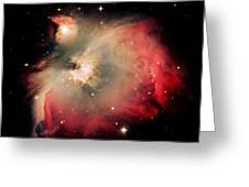 Orion Nebula Redux Greeting Card