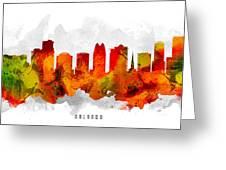 Orlando Florida Cityscape 15 Greeting Card