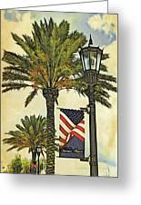 Ormond Beach Patriotic Greeting Card