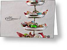 Ornament Compote Greeting Card