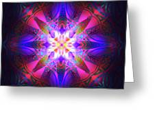 Ornament Of Light Greeting Card
