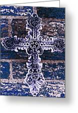 Ornate Cross 2 Greeting Card