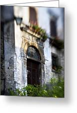 Ornate Italian Doorway Greeting Card