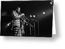 Ornette Coleman On Trumpet Greeting Card