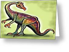 Ornithomimus Greeting Card