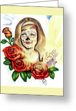 Oro Muerto Greeting Card