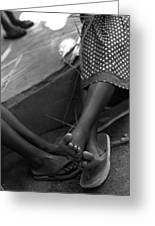 Orphan Feet Greeting Card