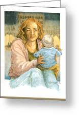 Orphans And Widows Greeting Card