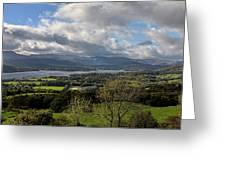 Orrest Head And Windermere Greeting Card