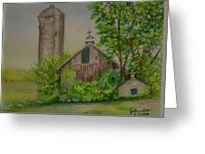 Orth Rd Barn Greeting Card