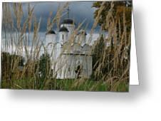 Orthodox Church In Mikulino Greeting Card
