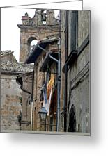 Orvieto Laundry Greeting Card