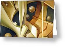 Os1980dc007 Celestial Globe No.7 24x28.25 Greeting Card