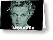 Oscar Goes To Leonardo Di Caprio Greeting Card