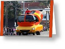 Oscar Mayer Wienermobile Greeting Card