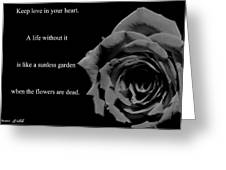 Oscar Wilde Love Quote Greeting Card