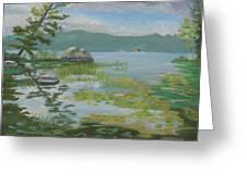 Oseetah Lake Cove Greeting Card