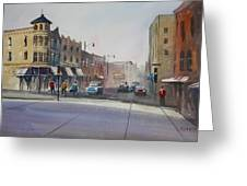 Oshkosh - Main Street Greeting Card