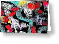 Osile Multicolor Greeting Card