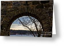 Oslo From Akershus Fortress Greeting Card
