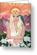 Ostara/spring Greeting Card