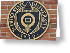 Osu Established Eighteen Seventy Greeting Card