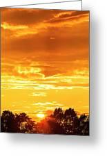Oswego Sunset 5 Greeting Card