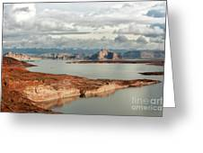 Otherworldly Morning At Lake Powell Greeting Card