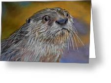 Otter Or Not Greeting Card