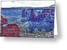Otto Trail Overlook Greeting Card