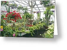 Ott's Greenhouse  Schwenksville Pennsylvania Usa Greeting Card