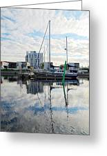 Oulu From The Sea 1  Greeting Card