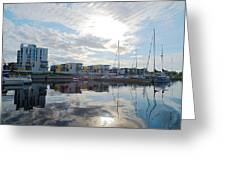 Oulu From The Sea 2 Greeting Card