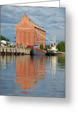Oulu From The Sea 3 Greeting Card