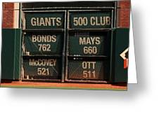 Our 500 Club Greeting Card
