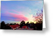 Our Cloud Sunset 12-08 Greeting Card