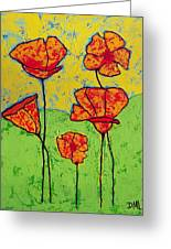 Our Golden Poppies Greeting Card