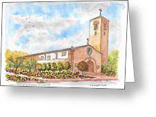 Our Lady Of Assumption Catholic Church, Claremont, California Greeting Card