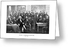 Our Presidents 1789-1881 Greeting Card