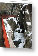 Ouray Catwalk Greeting Card