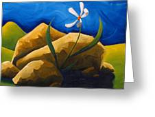 Out From Under A Rock Greeting Card